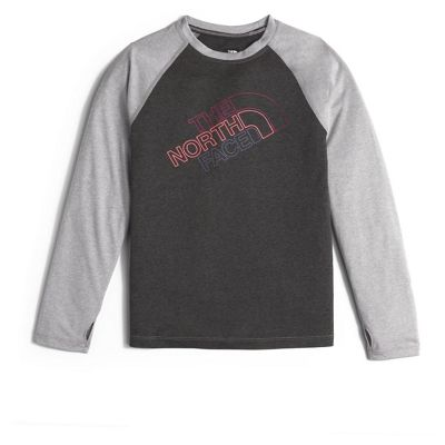 The North Face Girl's Mak Baseball LS Tee