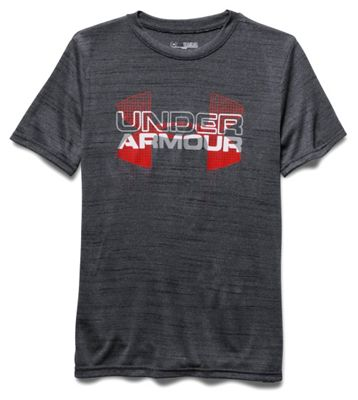 Under Armour Boys' Big Logo Hybrid SS Tee