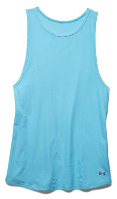 Under Armour CoolSwitch Womens Sleeveless Tank - Sky Blue