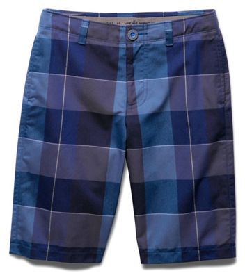 Under Armour Boys' Cross-Hand Yarn-Dye Short