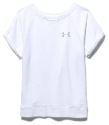 Under Armour Women's Favorite French Terry SS Crew
