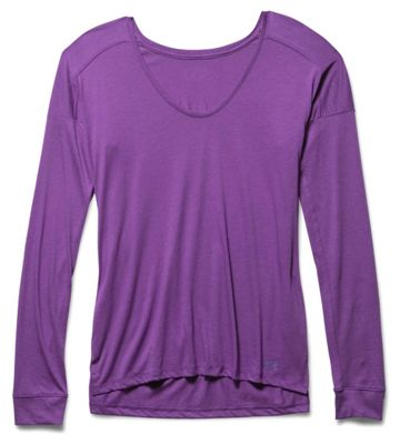 Under Armour Women's Favorite Collegiate LS Top