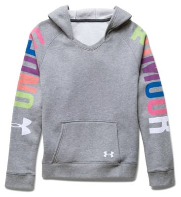 Under Armour Girls' Favorite Fleece Hoody