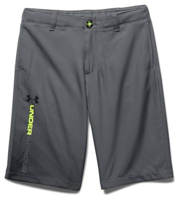 Under Armour Boys' UA Fade Right Golf Short
