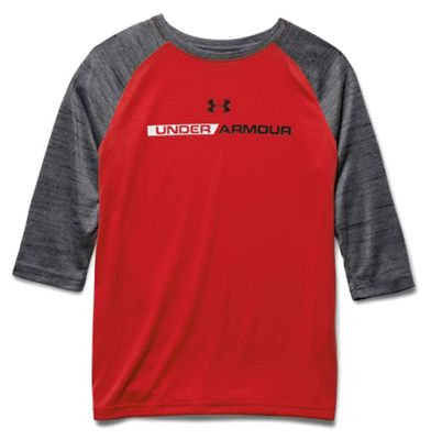 Under Armour Boys' Tech Prototype 3/4 Sleeve Top