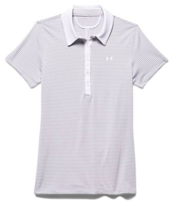 Under Armour Women's Zinger SS Stripe Polo