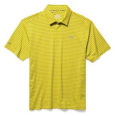 Under Armour Men's coldblack Address Stripe Polo