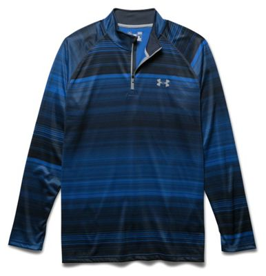 Under Armour Men's UA Tech Printed 1/4 Zip Tee