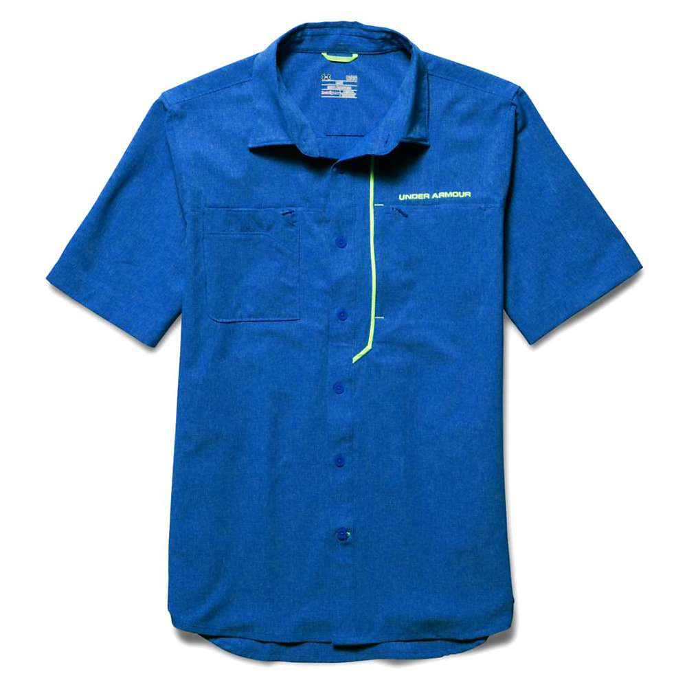 Under armour men 39 s armourvent fishing woven ss top at for Jawbone fishing shirts