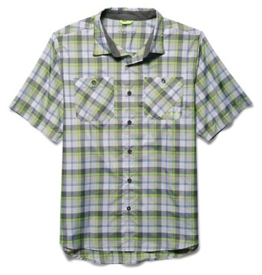 Under Armour Men's Chesapeake 2 SS Plaid Shirt