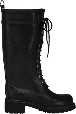 Ilse Jacobsen Women's Rub 75 Long Rubber High Heel Boot