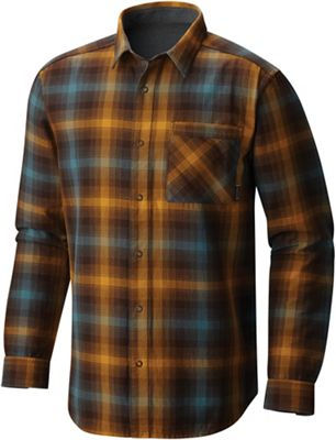 Mountain Hardwear Men's Reversible Plaid LS Shirt