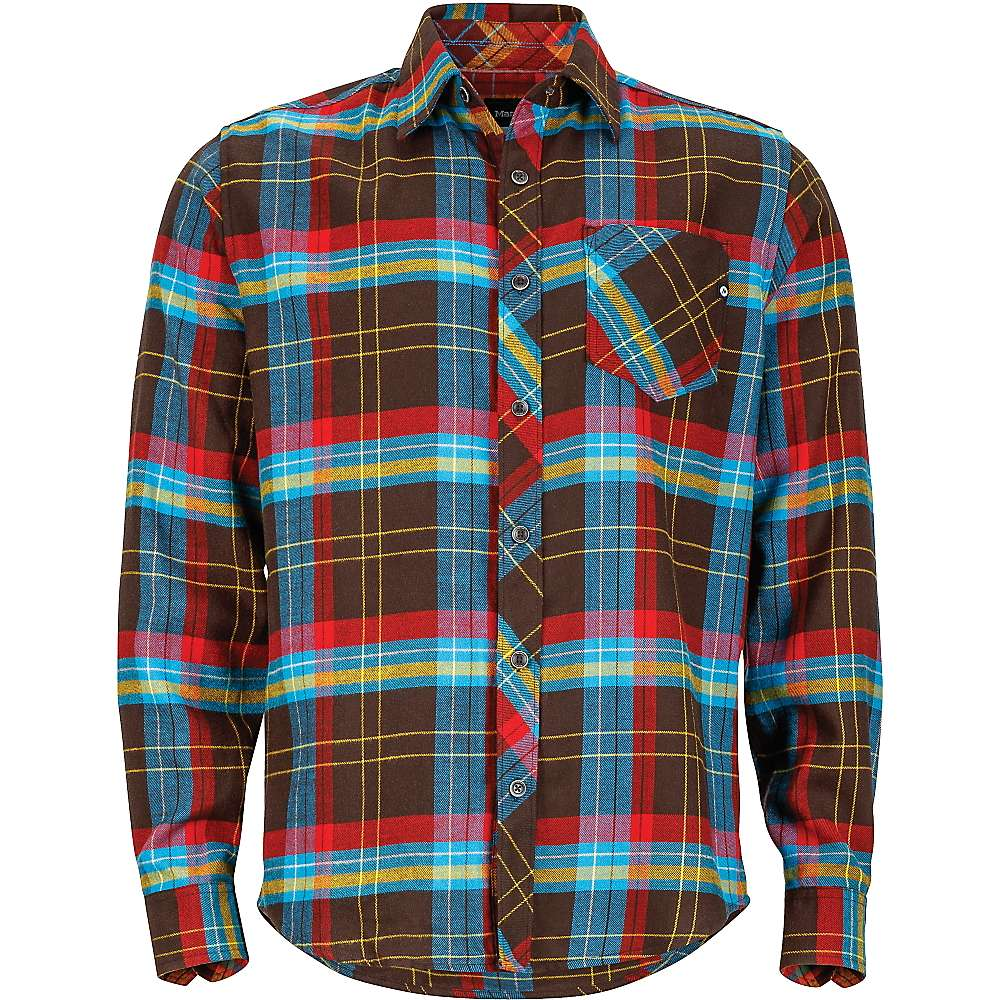 Marmot men 39 s anderson flannel ls shirt at for Marmot anderson flannel shirt men s
