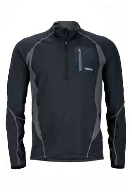 Marmot Men's Elance 1/2 LS Zip Top
