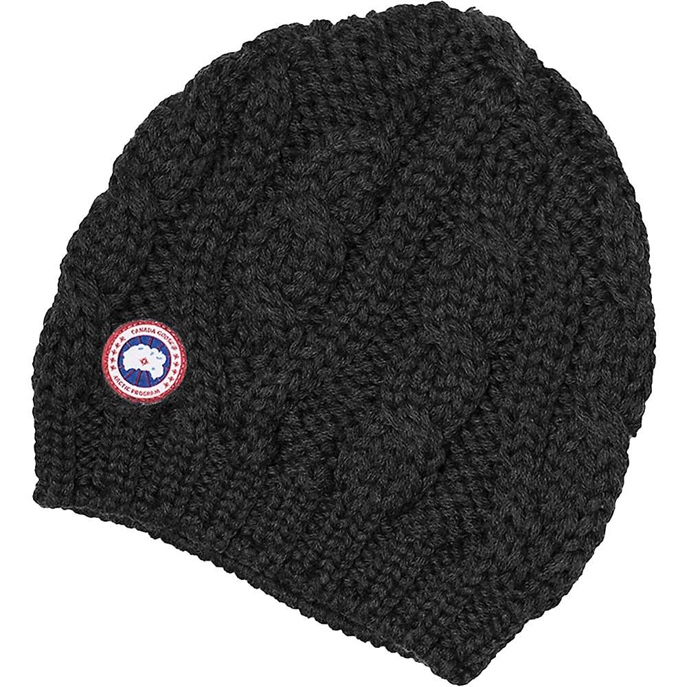 Canada Goose Women S Chunky Cable Knit Beanie At
