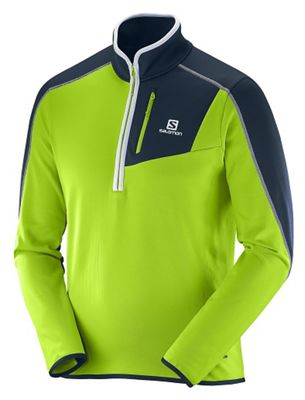 Salomon Men's Atlantis Half Zip Fleece Top