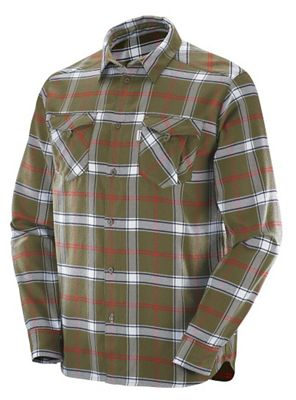 Salomon Men's Boundless Flannel LS Shirt