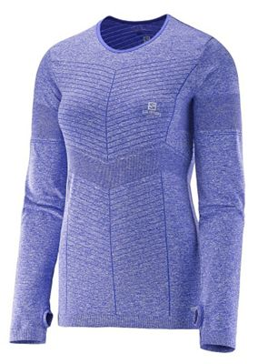 Salomon Women's Elevate Seamless LS Tee