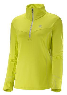 Salomon Women's Trail Runner Warm Mid Fleece Top