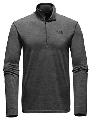 The North Face Men's Eng Wool 1/4 LS Zip Top