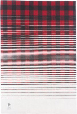 Woolrich Buffalo Fade Out Jacquard Blanket