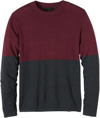 Prana Men's Colorblock Sweater Crew