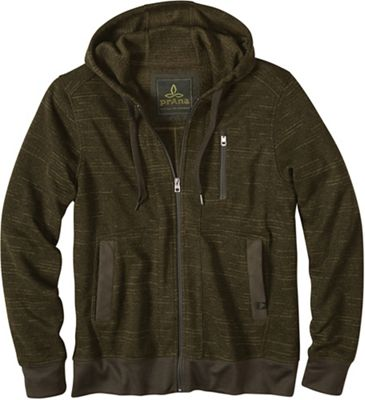 Prana Men's Performance Fleece Zip Hood Jacket