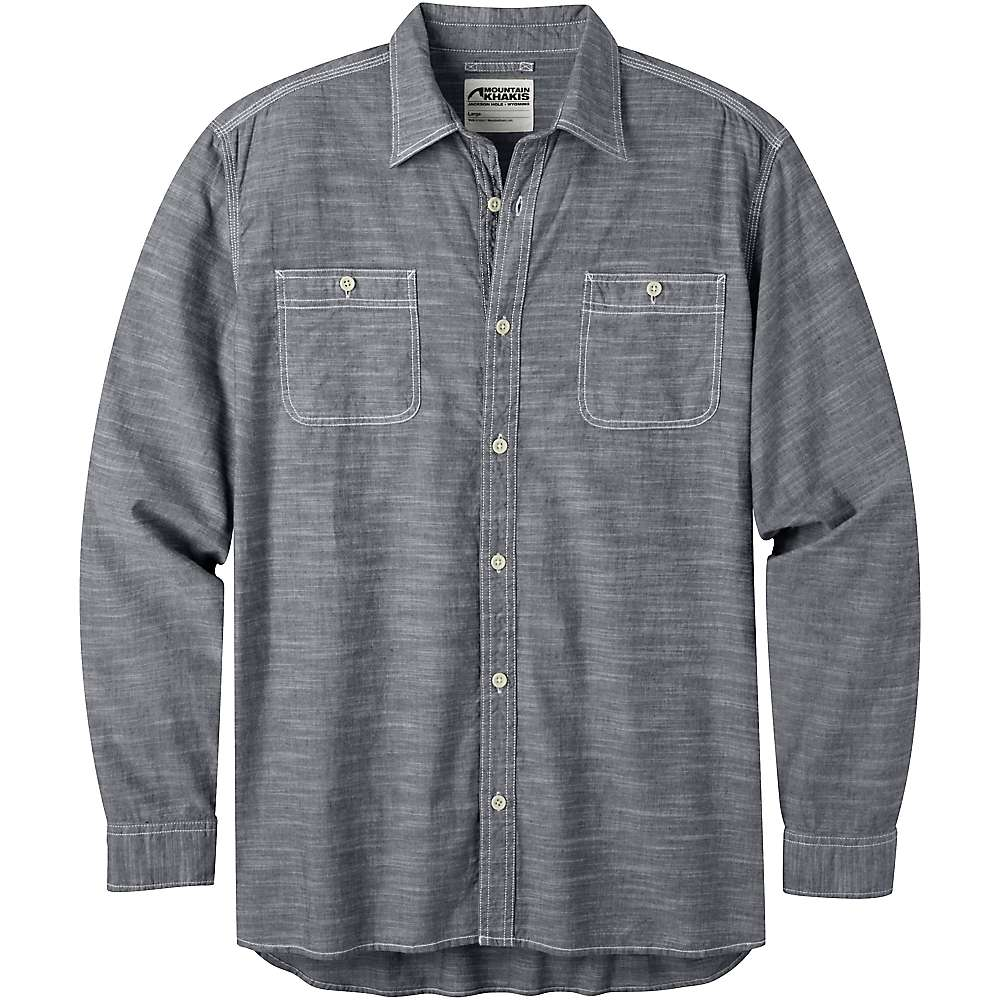 Mountain khakis men 39 s mountain chambray ls shirt at for Chambray 7 s