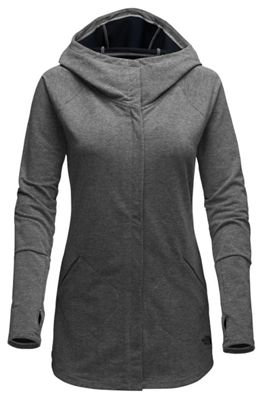 The North Face Wrap-Ture Full Zip Womens Jacket (Black / Gray)