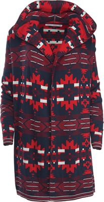 Woolrich Women's Dew Berry Hooded Fairisle II Cardigan