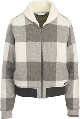 Woolrich Women's Gaint Buffalo Wool Bomber