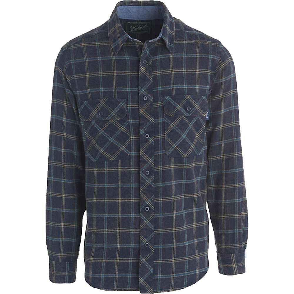 Woolrich men 39 s miners wash flannel shirt at for How to wash flannel shirts