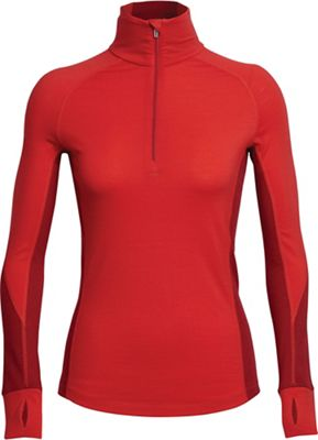 Icebreaker Women's Winter Zone LS Half Zip Top