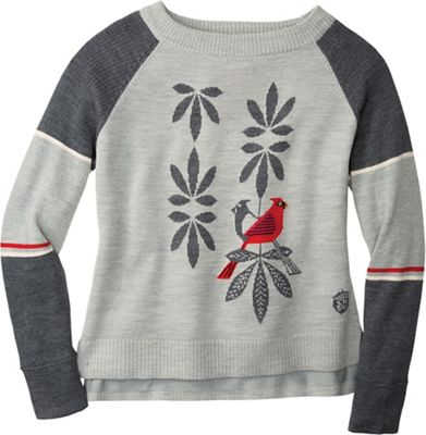 Smartwool Women's Charley Harper Consorting Cardinals Sweater