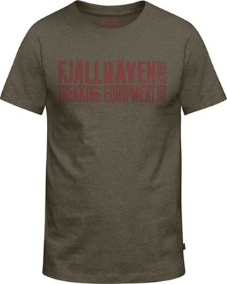 Fjallraven Men's Equipment Block Tee