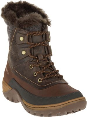Merrell Women's Sylva Mid Lace Waterproof Boot