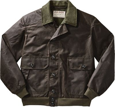 Filson Men's Ranger Oil Cloth Bomber
