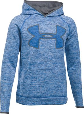 Under Armour Boys' UA Armour Fleece Storm Twist Highlight Hoodie