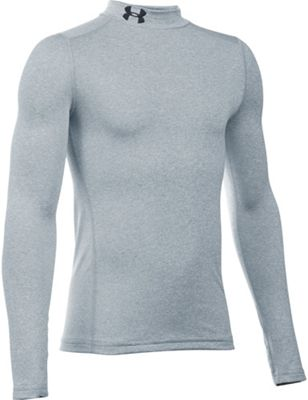 Under Armour Boys' UA ColdGear Armour Mock Neck Top