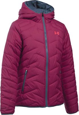 Under Armour Girl's ColdGear Reactor Hooded Jacket