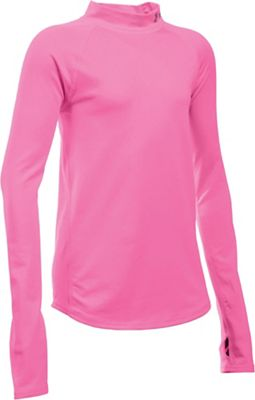Under Armour Girl's Performance Mock Top