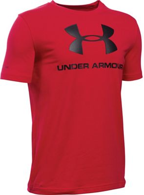 Under Armour Boy's Sportstyle Logo SS Tee