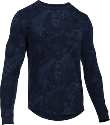 Under Armour Men's Waffle LS Printed Crew