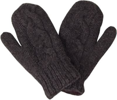 Laundromat Women's Twisted Fleece Lined Mittens