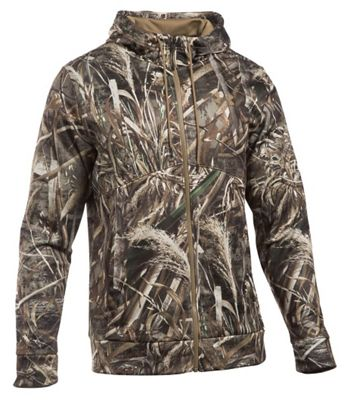 Under Armour Men's Icon Camo Full Zip Hoodie