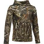 Under Armour Boy's Icon Camo Logo Hoodie