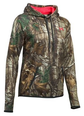 Under Armour Women's Icon Camo Logo Hoodie