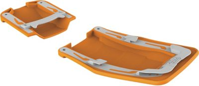 Petzl Vasak and Sarken Antisnow Antiball Plate