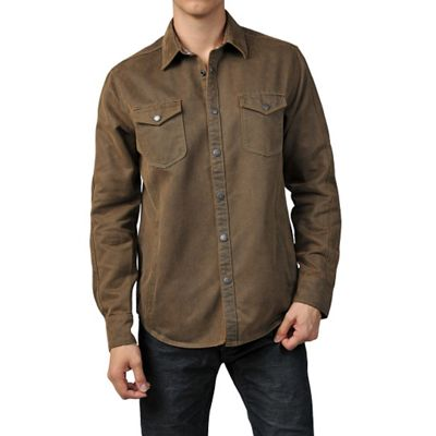 Jeremiah Men's Colt Suede Cotton Shirt
