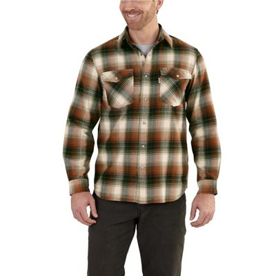 Carhartt Men's Trumbull Snap Front Plaid Shirt